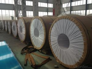 Aluminium Cold Rolled Coil Thick Foil Made in China