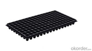 288 Cells OEM Plastic Nursery Tray&Lids Plastic Nursery Seed Plug Trays for Propagation