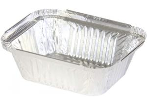 Aluminium Plain Foil Jumbo Roll For Food Tray and Container