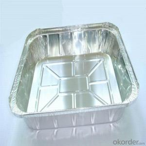 Aluminum foils container - pie pan container foil FOR FOOD 8011