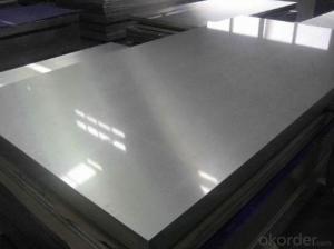 0.3-3.5mmRibbed Aluminum Mirror Sheet for Trailer for Anti-Skip