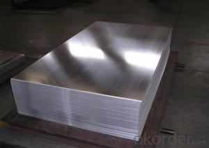 0.3-3.5mmRibbed Aluminum Mirror Sheet for Trailer for Anti-Skip