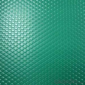Color Coated Aluminum Embossed Sheet with High Quality