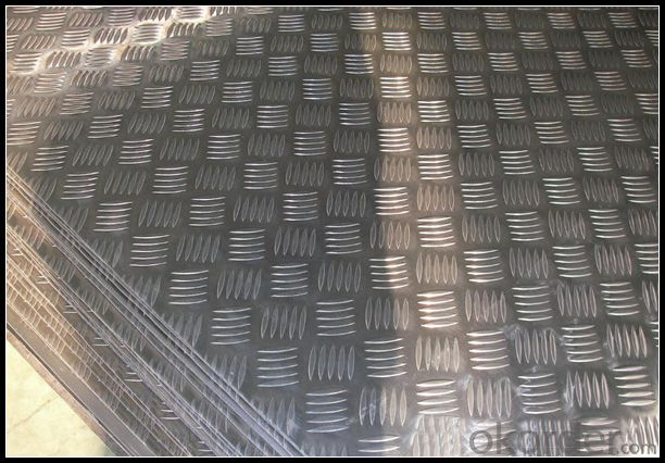 Embossed Aluminum Sheet 5052 for Anti-slipped Step