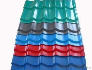 Painted Corrugated Aluminum Cladding Sheet Metal for Roofing