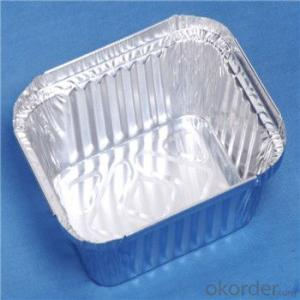 Plain Aluminium Container Foil for Food Trays