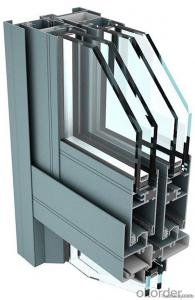 Air Handling Unit Case Aluminum Extrusion Profile With Thermal Break