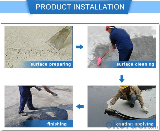 Single-component PU Concrete Waterproofing Coating