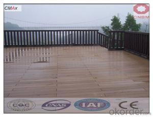 Wpc Decking Tiles High Density Weather-Resistant Hotel For Outdoor China