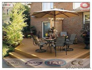 WPC Wood Material Decking Flooring Tiles Hot Wood Waterproof For Sale