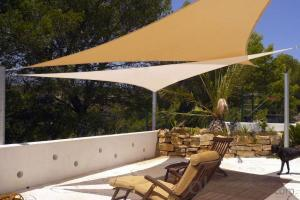 Polyester Sun Shade Sail for Car Park ,Beach