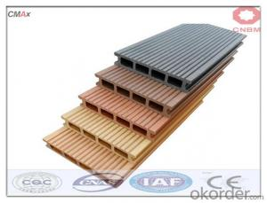 Wood Plastic Composite Decking DIY Tile Interlock Decking For Sale