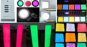 Colorful LED Panel Ultra Slim High Brightness 60x60 cm
