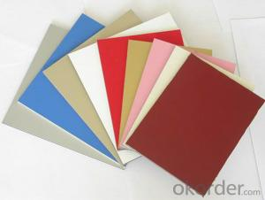 Mill Finished EN AW - 3003 PVDF Coated Aluminium Composite Panels