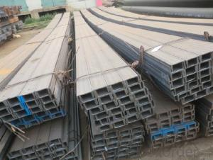 Hot Rolled Steel U-Channel High Quality JIS/GB