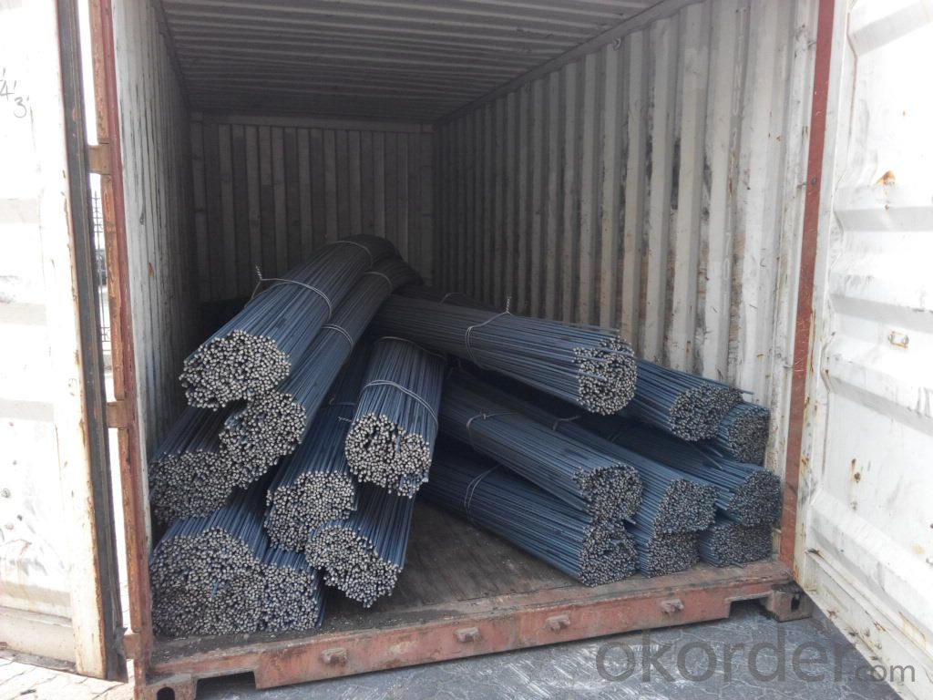 Stee Rebar ASTM A651 GR40/60 with High Quality and Competitive Prices