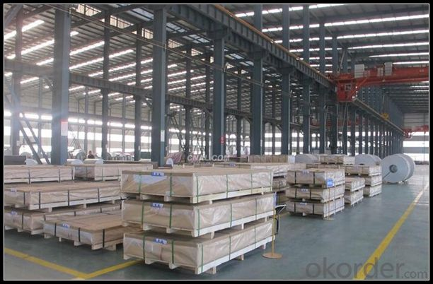 1100 Cans Aluminum Sheet With Plastic Film