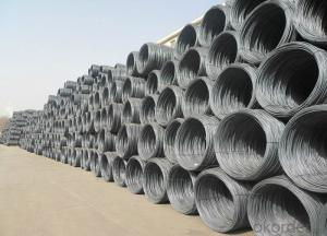 wholesale carbon hot rolled steel wire rod in coil with lower price
