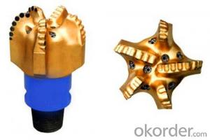 API PDC Drill Bits for Well Drilling Usage