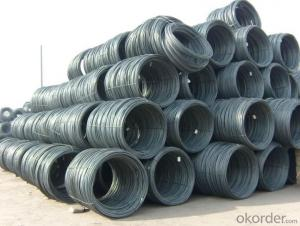 Supply 10mm steel wire rod in coils with competitive price