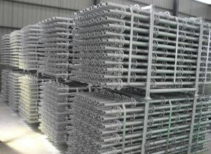 Ring-lock Scaffolding with Cold Galvanized Surface Treatment and Hot Deep Galvanized