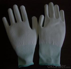 Gauge Polycotton Latex Coated Glove Hands protective work string knitted latex gloves CE