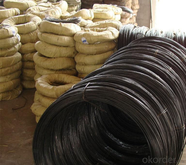 1.0mm Black Annealed Tie Wire for India Market