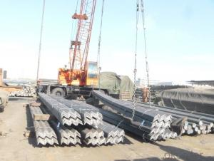 Hot Rolled  unequal Angle Steel  for High Voltage Transmission Tower