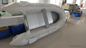 0.9mm PVC Inflatable Boat 320 with Aluminum Boat