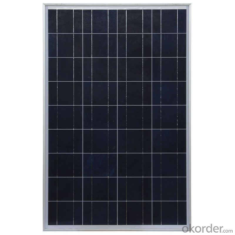 156*156mm 150W China Polycrystalline Solar Panel