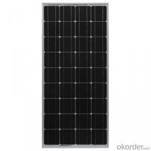 150wp Maximum Power Monocrystalline Solar Panel