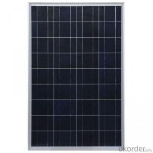150W Polycrystalline Solar Panel with Good Quality
