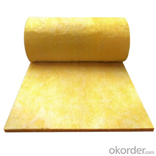 Glass Wool Blanket faced with Kraft Paper