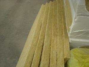 Rock Wool Board for Roofing Insulation Good Quality