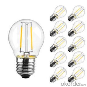 Led Filament Bulb Hot Sell Wholesale Price Glass