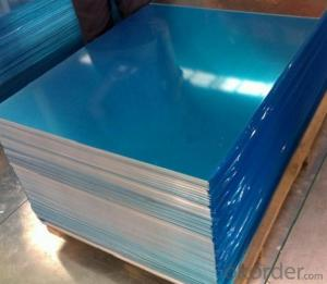 Plastic Film Coated Aluminum Sheet Hot-sale