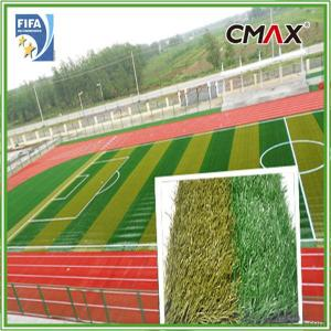 Football,Soccer Field Grass with Polyethlylene Fibrillated yarn