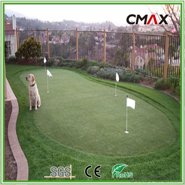 15mm Height Golf Grass with PA/Nylon Monofilament