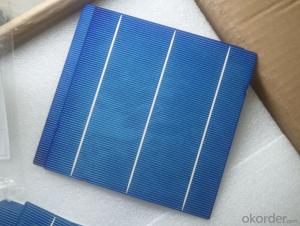 4.23W 3 BB A Grade Poly Solar Cell156mm with17.4-17.5% Efficiency approved by CE TUV