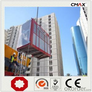 Building Hoist SC250 drop test operation box for sale