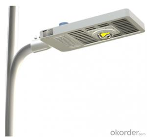 led street light with High efficiancy  low light decay  and anti-glare lens