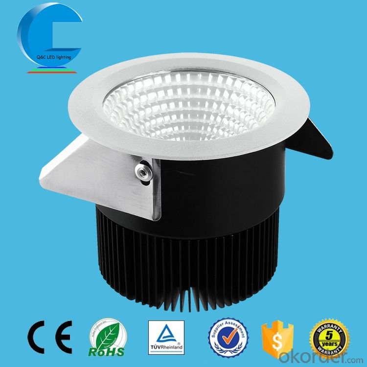 IP54 LED Mini Downlight 5w 7w 10w for Sitting Room and Kitchen Lighting