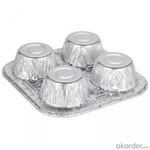 218x112x60mm 1000ml disposable aluminum foil container with lid
