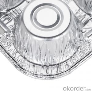 Coated aluminum foil for food container FOR 8011