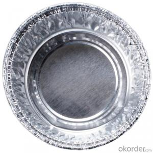 Aluminum foil container foil- pie pan container foil FOR FOOD 8011
