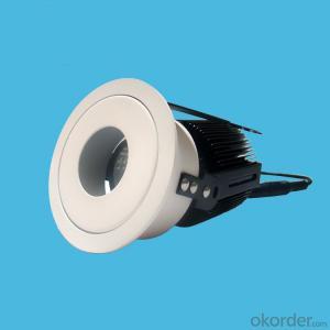adjustable angle cob led ceiling spotlights 10W 15W