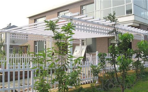 UV Resistant Vinyl Picket Fence Made in China