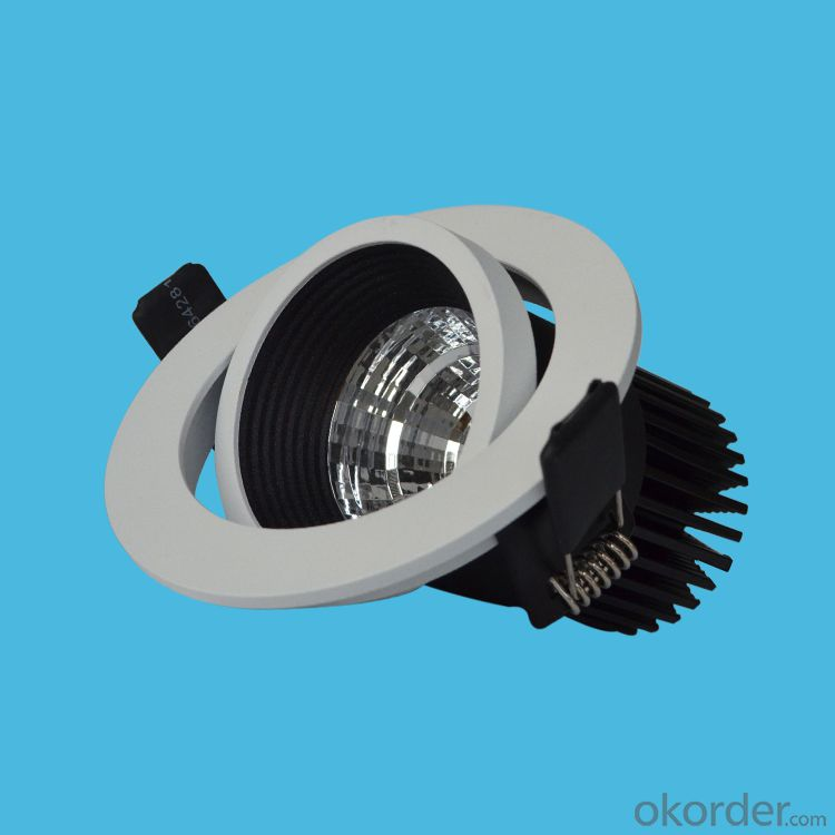 led cob ceiling spotlight 7w 10w warranty 3 years use for  hotel highting