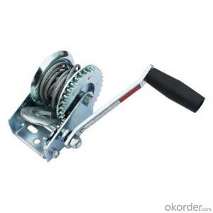 1200LBS Winch for Poultry Husbandry with Wire Cable