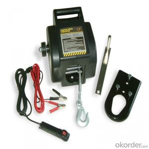 1200LBS Winch for Offroad Boat with Wire Cable